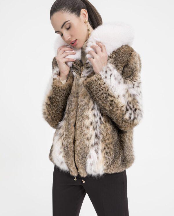 Chaqueta de LinxCat (gato lince) con capucha marca De la Roca