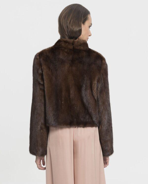 Torerita de piel natural de visón Saga Furs