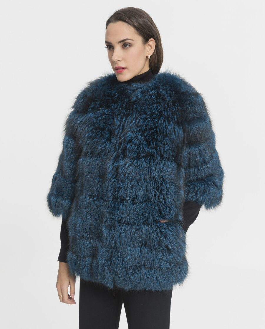 Abrigo de zorro azul Saga Blue Fox marcar Marcelo Rinaldi