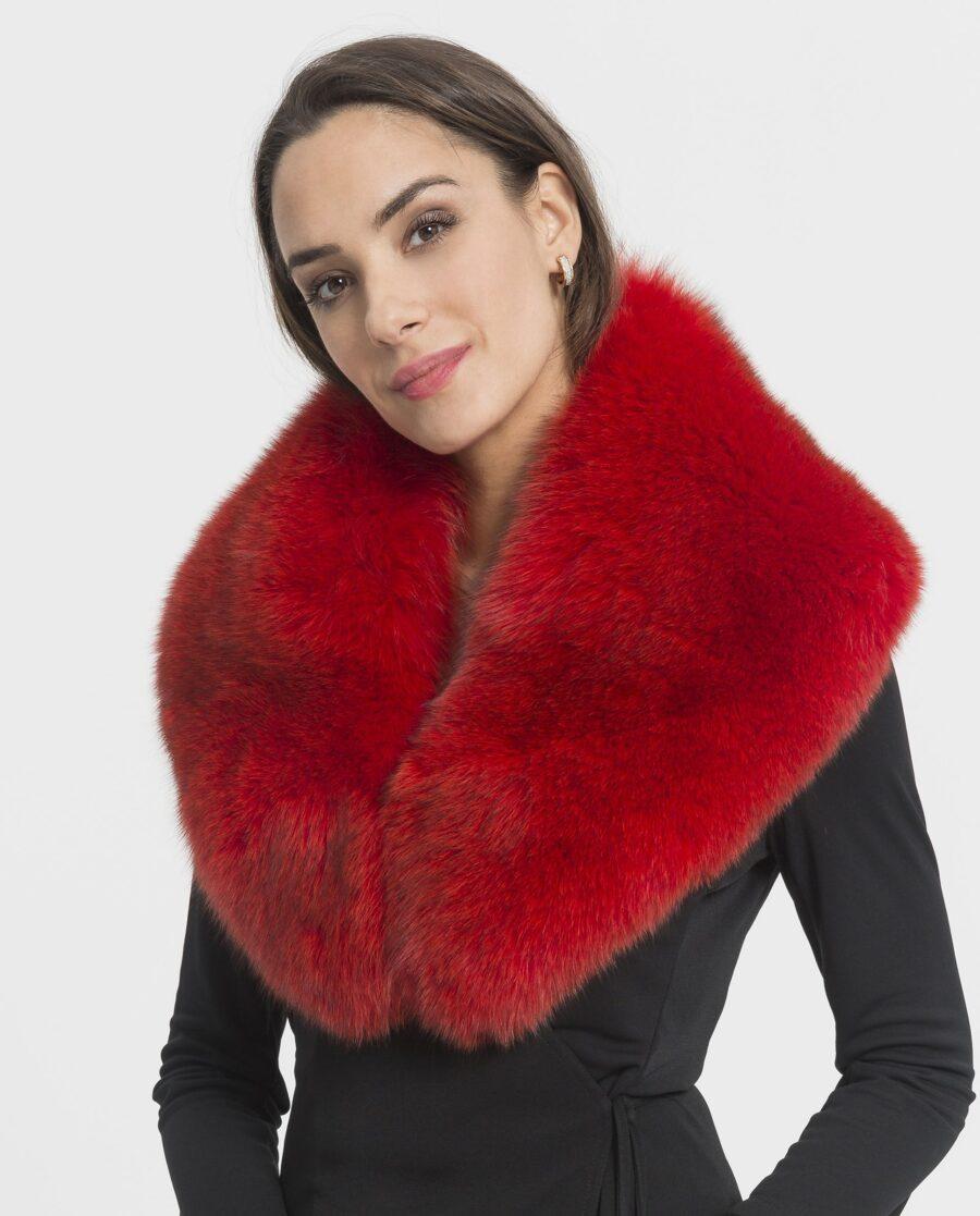 Cuello largo Saint Germain de pelo rojo
